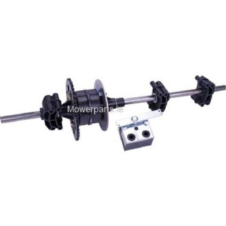 Diff Assembly Complete (3) Speed Gearbox | Mower Parts